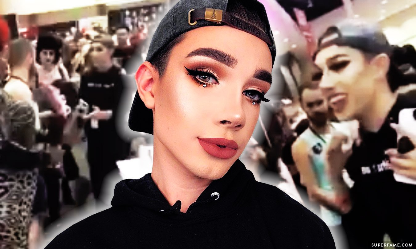 James Charles Caught Shamelessly Using His Fame To Cut In Line