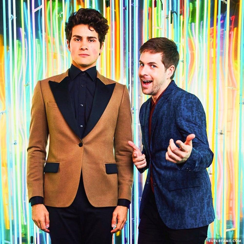 Anthony & Ian.