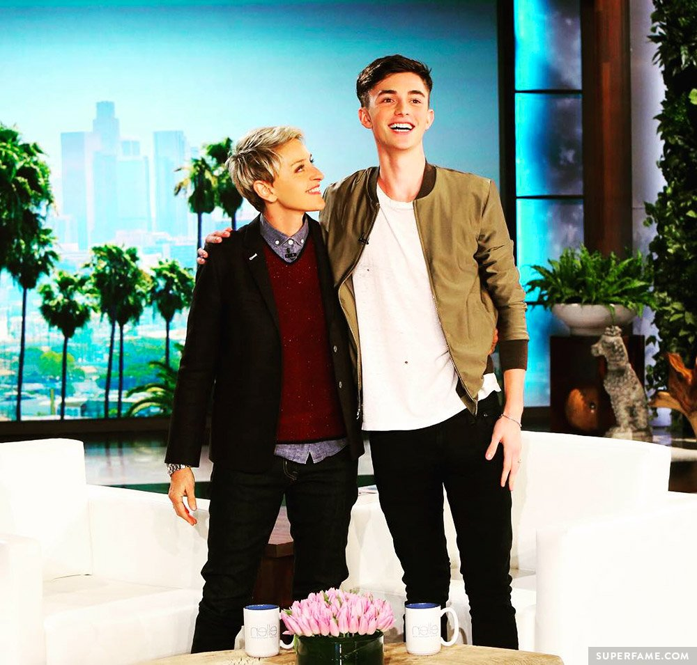 Greyson on Ellen.