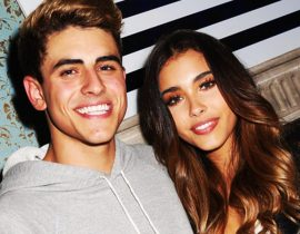 Madison Beer and Jack Gilinsky.