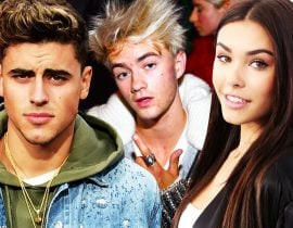 Jack Johnson, Jack Gilinsky & Madison Beer.