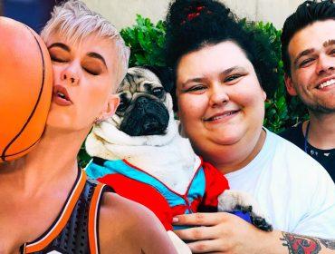 Elijah Daniel, Christine Sydelko & Katy Perry.