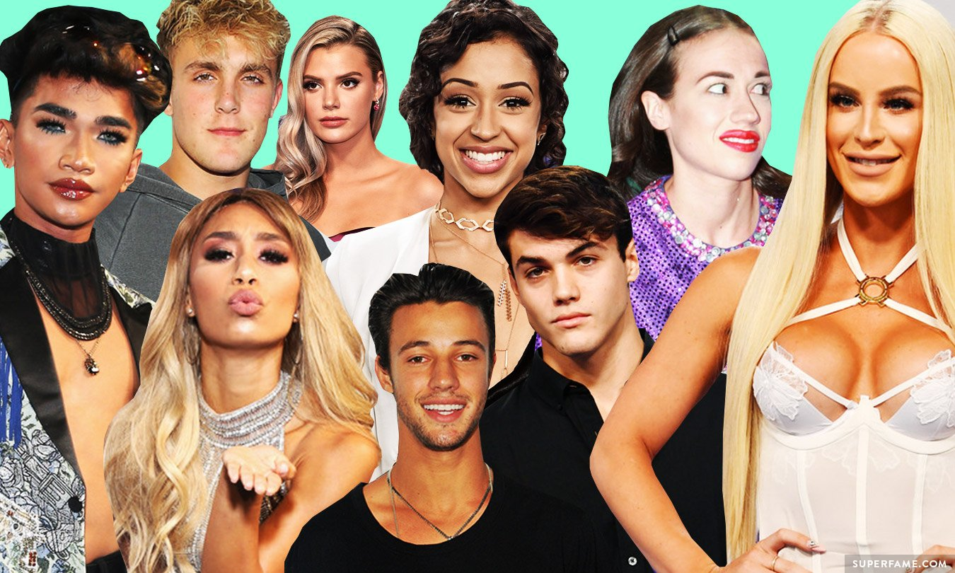 YouTubers at MTV VMAs.