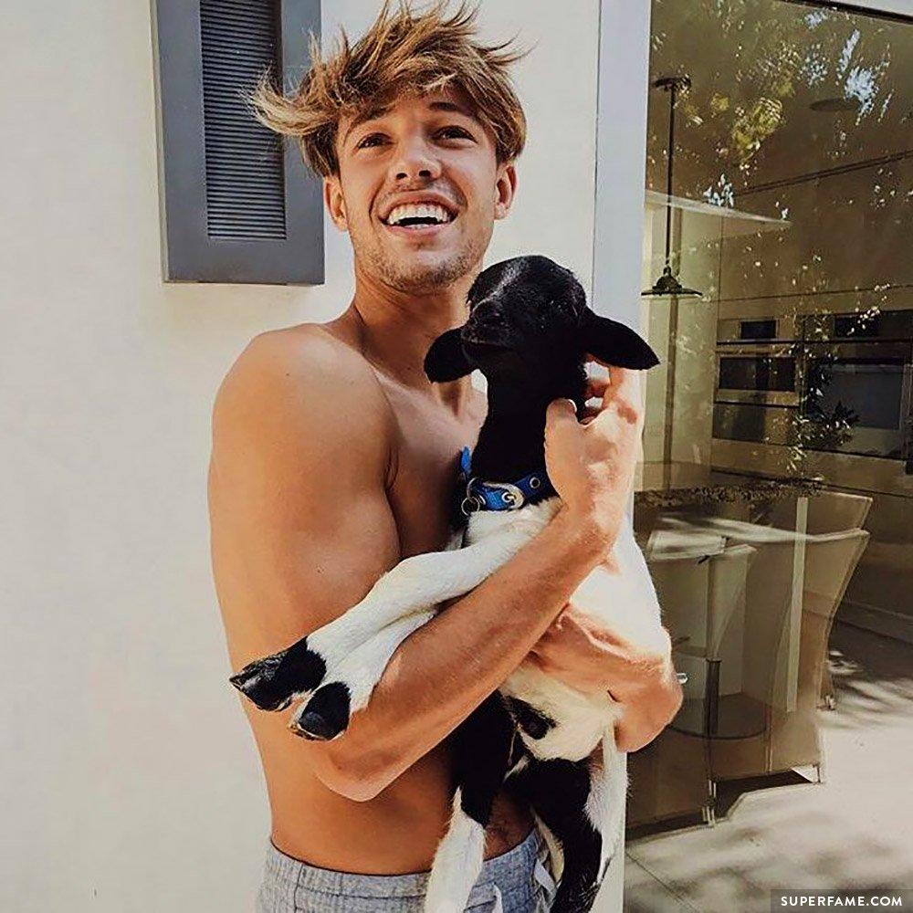 Cam Dallas' goat.