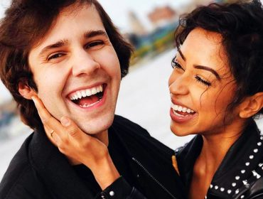 Liza Koshy with David Dobrik.