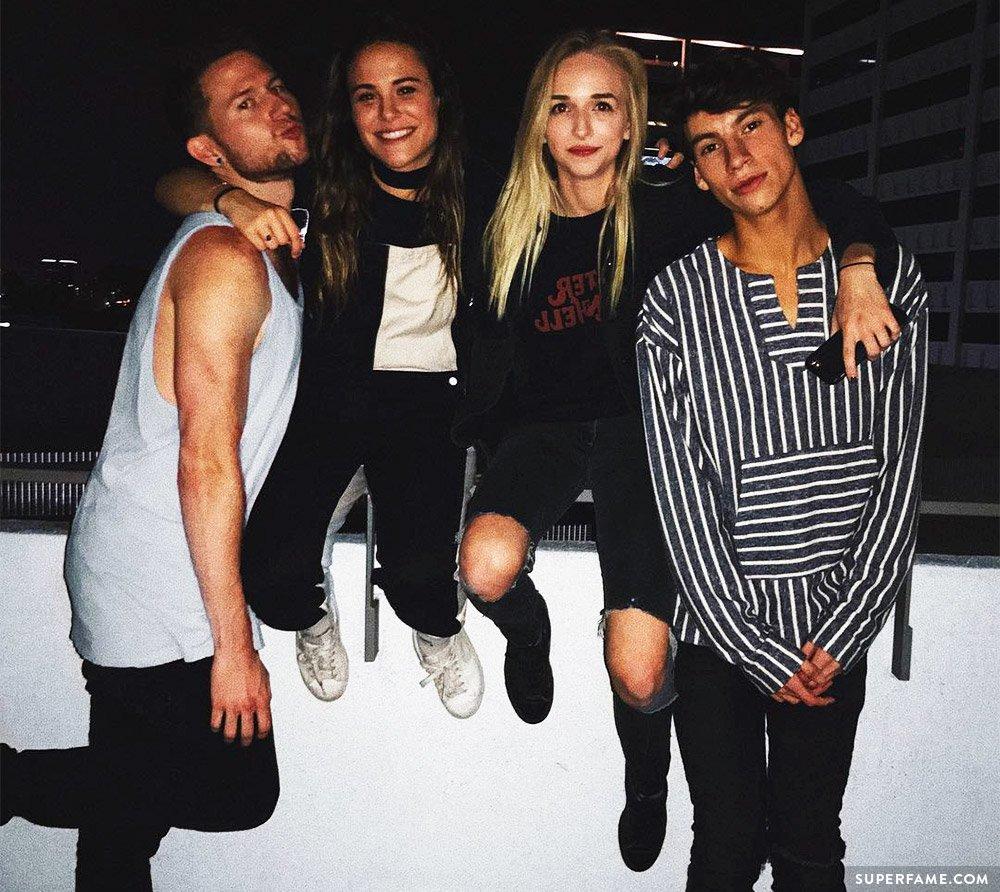 Jennxpenn, Ricky, Jack, Ayydubs.