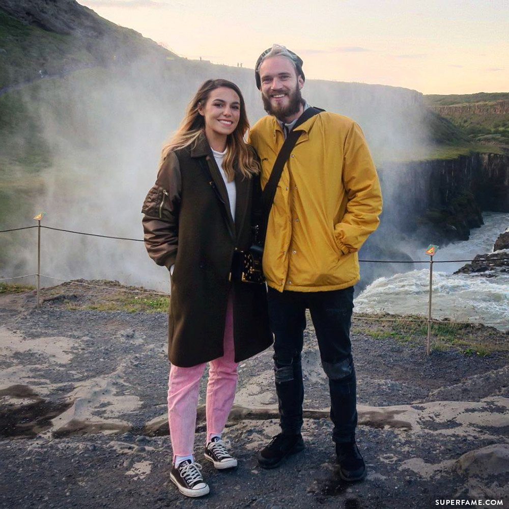 Marzia with Felix.