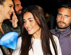 Scott Disick, Madison Beer & Suede Brooks.