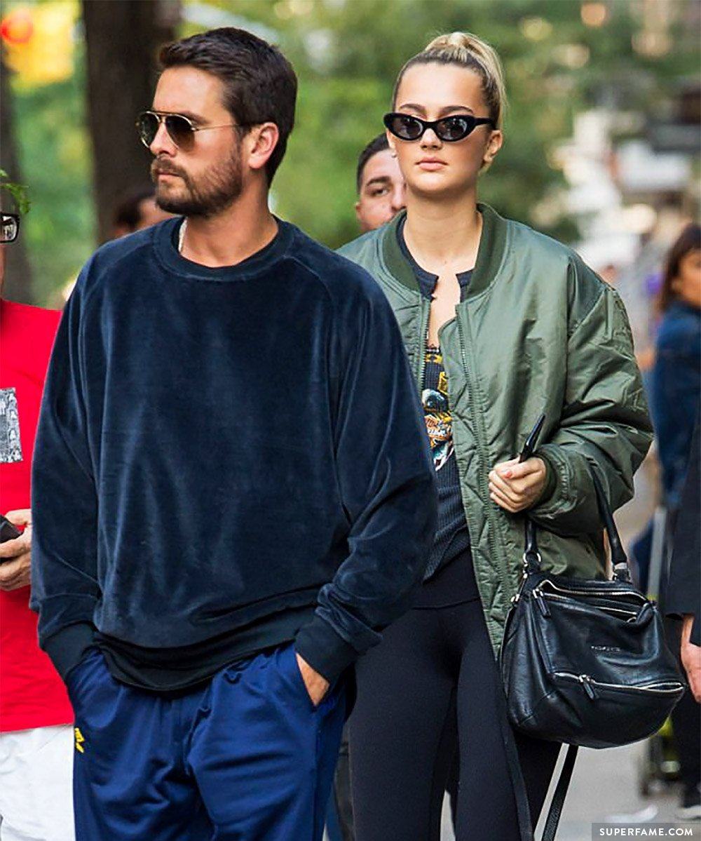 Suede Brooks and Scott Disick.
